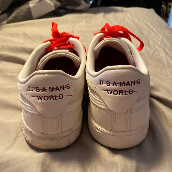 its a mans world reebok